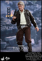 Фигурка Хана Соло — Hot Toys Star Wars Episode VII 1/6 Han Solo