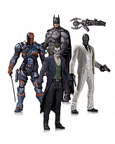 Набор фигурок Batman Arkham Origins (DC Collectibles Batman Arkham Origins Action Figure 4-Pack)