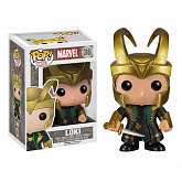 "Башкотряс Локи со шлемом ""Тор 2"" POP! (Funko Thor 2 POP! Marvel Vinyl Bobble-Head Loki with Helmet)"