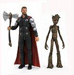 Фигурки Тора и Грута — Avengers Infinity War Marvel Select Thor Groot
