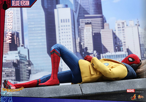 Фигурка Спайдермена — Hot Toys Homecoming 1/6 Spider-Man Deluxe