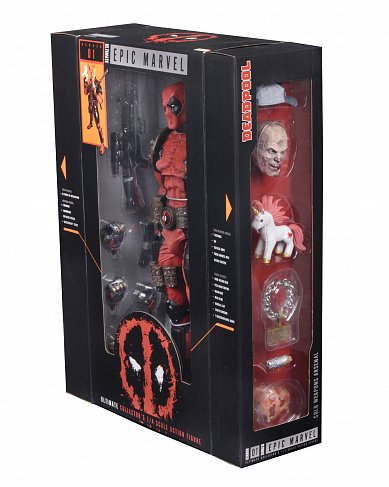 Фигурка Дэдпула — Neca Marvel Ultimate 1/4 Deadpool