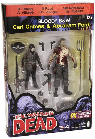 Фигурки Карла и Форда — McFarlane Toys The Walking Dead 2-Pack Abraham Ford Carl Grimes