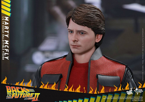 Фигурка Марти МакФлая — Hot Toys Back to the Future II 1/6 Marty McFly