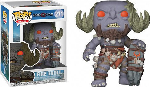 Фигурка Тролля — Funko God of War 2018 POP! Fire Troll