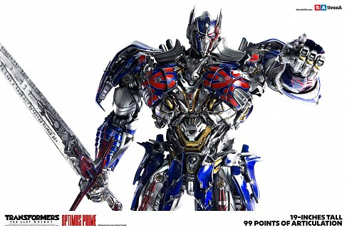 Фигурка Оптимуса Прайма — ThreeA Transformers The Last Knight 1/6 Optimus Prime