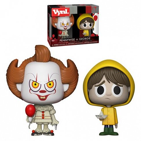 Фигурки Оно — Funko It Vinyl 2-Pack Pennywise & Georgie