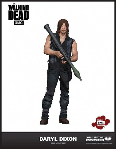 Фигурка Дэрила Диксона — McFarlane Toys The Walking Dead Deluxe Daryl Dixon S6