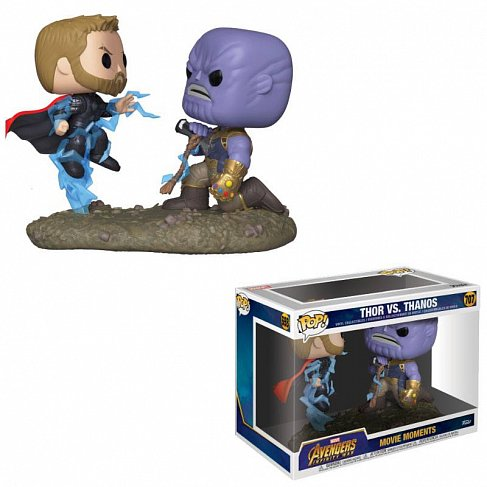Фигурки Мстители — Funko Marvel POP! 2-Pack Thor Thanos