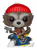 Фигурка Енота Ракеты — Funko Marvel Holiday POP! Rocket