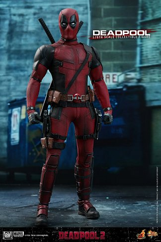 Фигурка Дэдпула — Hot Toys MMS490 Deadpool 2 1/6