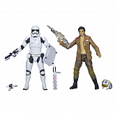 Набор фигурок Hasbro Star Wars Black Series Poe Dameron & Stormtrooper 2-pack