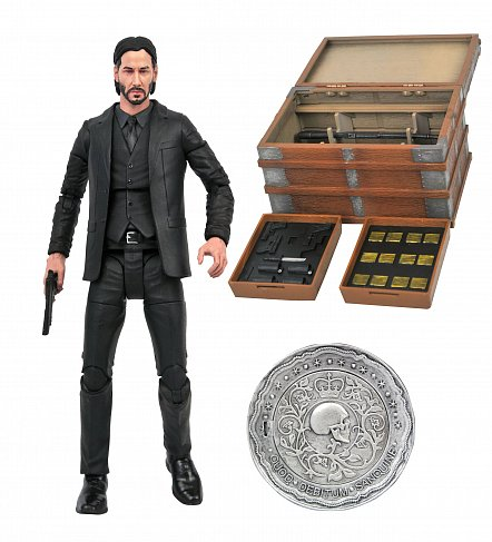 Фигурка Джон Уик — John Wick Deluxe Box Set
