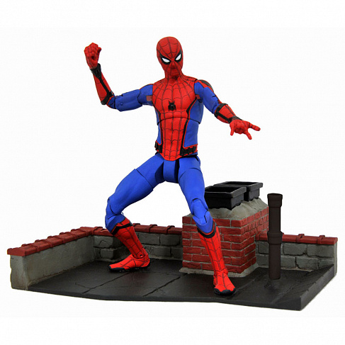 Фигурка Спайдермена — Spider-Man Homecoming Marvel Select