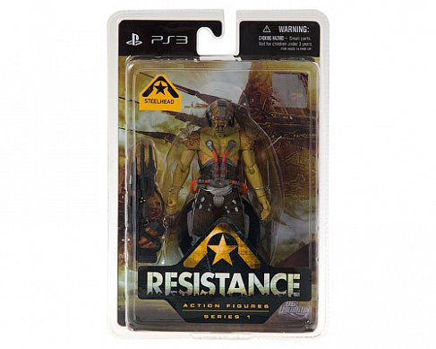 Фигурка Стилхэда — DC Direct Resistance Series 1 Steelhead