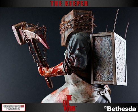 Статуя Хранителя — Gaming Heads The Evil Within The Keeper