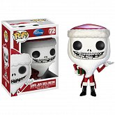 Фигурка Джека Скеллингтона — Funko Nightmare Before Christmas POP! Santa Jack