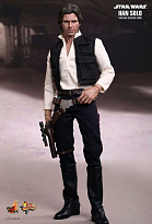 "Премиум-фигурка Хан Соло ""Звездные Войны"" (Hot Toys Star Wars Episode IV: A New Hope Movie Masterpiece Han Solo 1/6 Figure)"