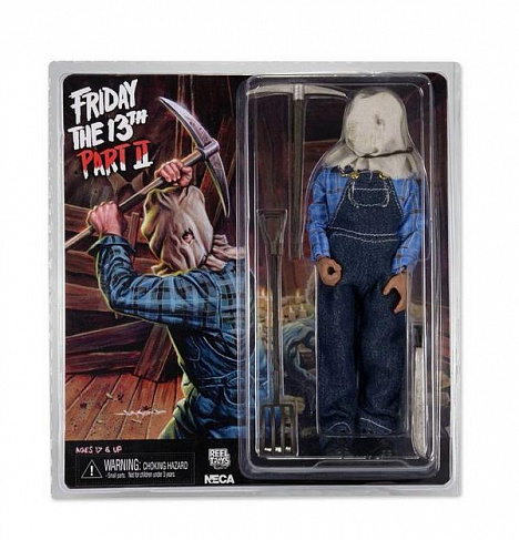 Фигурка Джейсона — Neca Retro Horror: Friday the 13th Part 2 Jason Voorhees