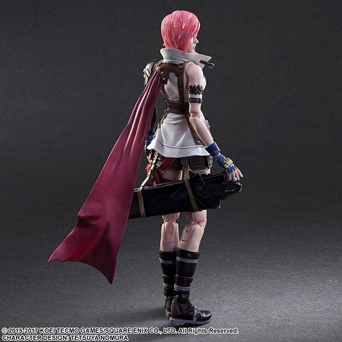 Фигурка Лайтнинг — Square Enix Dissidia Final Fantasy Play Arts Kai Lightning