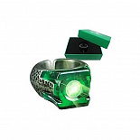 Реплика Кольца Зеленого Фонаря - Noble Collection Green Lantern Movie Light-Up Ring
