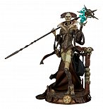 Фигурка Xiall — Sideshow Court of the Dead PVC Statue Osteomancers Vision