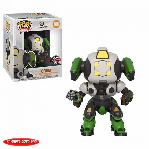 Фигурка Ориса — Funko Overwatch POP! Orisa OR-15 Skin GameStop Exclusive