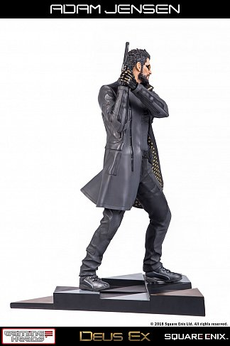 Статуя Адам Дженсен — Gaming Heads Deus Ex Mankind Divided Statue 1/4 Adam Jensen