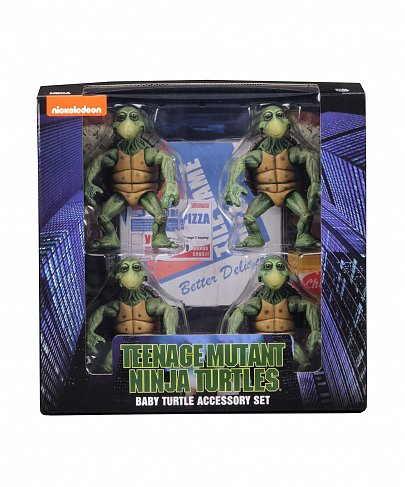 Набор Baby Turtles — Neca Teenage Mutant Ninja Turtles 4-Pack 1/4