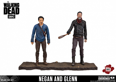 Фигурки Нигана и Глена — McFarlane Toys The Walking Dead 2-pack Negan & Glenn