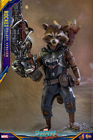 Фигурка Енота Ракеты — Hot Toys Guardians of the Galaxy Vol. 2 1/6 Rocket Deluxe