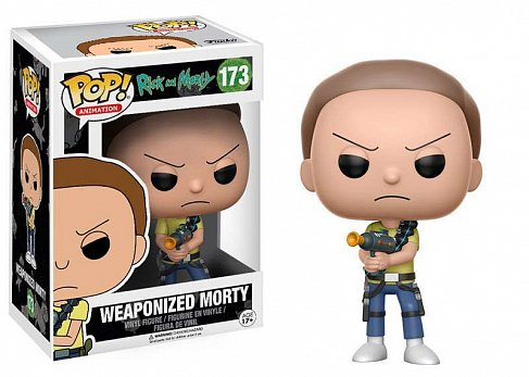 Фигурка Морти — Funko POP! Rick and Morty Weaponized Morty