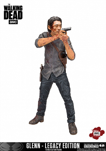 Фигурка Глена — McFarlane Toys The Walking Dead Deluxe Glenn Rhee