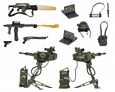 Набор фигурок Чужие — Neca Aliens USCM Arsenal Weapons Accessory Pack