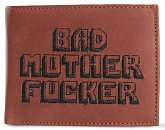 "Бумажник Bad Motherfucker ""Криминальное Чтиво"" (Pulp Fiction Bad Motherfucker Wallet Brown Embroidered Logo)"
