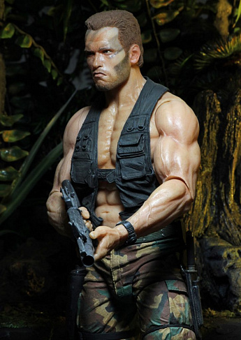 Фигурка Датча — Neca Predator 30th Anniversary Jungle Encounter Dutch