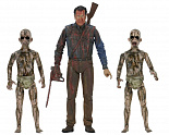 Набор фигурок Эш и Демоны — Neca Ash vs Evil Dead Bloody Ash vs Demon Spawn 3-pack