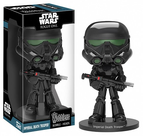 Башкотряс Штурмовик — Funko Star Wars Rogue One Wacky Wobbler Imperial Death Trooper
