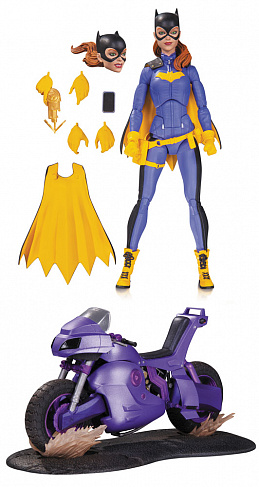Фигурка Бэтгерл с байком — DC Collectibles Deluxe Batgirl of Burnside