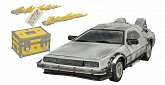 Модель ДеЛориан Diamond Select Back to the Future 30th Anniversary Edition Iced Model DeLorean Time Machine 1/15 Scale