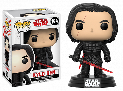 Фигурка Кайло Рена — Funko POP! Star Wars Bobble-Head Kylo Ren