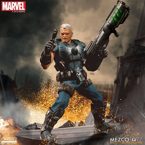 Фигурка Кейбла — Mezco Marvel Universe 1/12 Cable