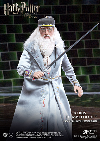 Фигурка Альбуса Дамблдора — Star Ace Toys Harry Potter 1/6 Albus Dumbledore
