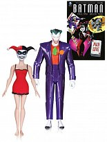 Фигурки Джокера и Харли Квинн — DC Collectibles Batman The Animated Series The Joker & Harley Quinn Mad Love