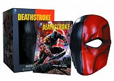 Маска и комикс Дестроук — DC Comics Replica Deathstroke Mask & Book Set