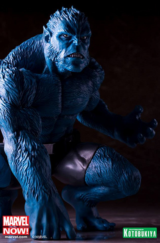 Фигурка Зверь Kotobukiya Marvel Comics Beast Marvel Now ARTFX+ PVC Statue