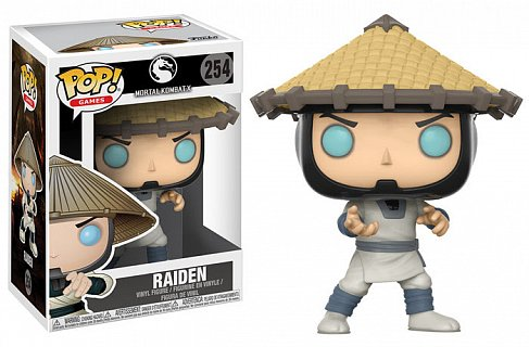 Фигурка Рейдена — Funko Mortal Kombat POP! Raiden
