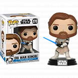 Фигурка Кеноби — Funko Star Wars Clone Wars POP! Bobble-Head Obi Wan Kenobi