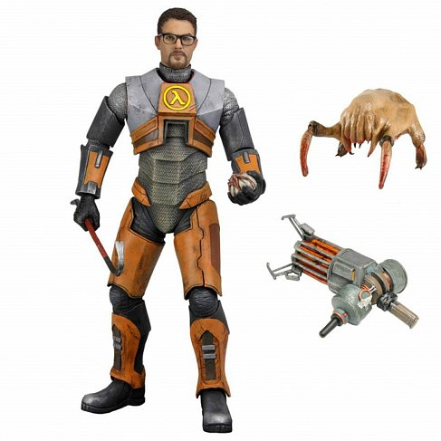 Фигурка Гордона Фримена — Neca Half Life 2 Gordon Freeman