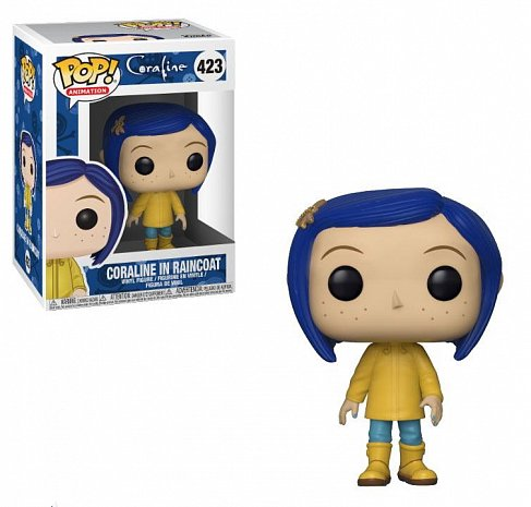 Фигурка Коралины — Funko POP! Coraline in Raincoat